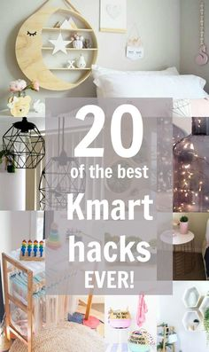 We've rounded up the best 20 Kmart hacks we've ever seen! Check out these clever and inexpensive ways to style your home!