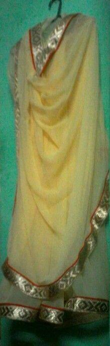 Crape+saree+with border#simple elegant