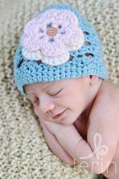 Handmade Newborn Hat $17.00