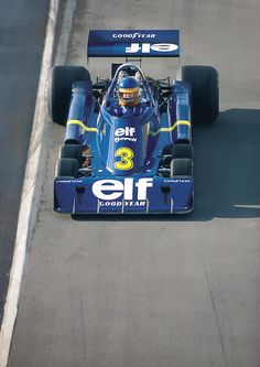 Ronnie Peterson 6-wheeler Tyrrell P34