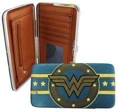 Geek Chic >> DC Comics Wonder Woman Hinge Wallet