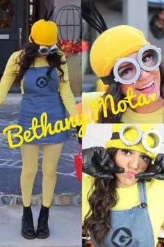 Bethany Mota Minion costume