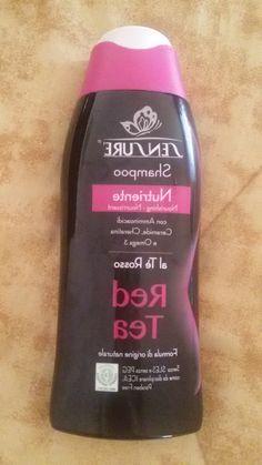 shampoo sensurè al tè rosso