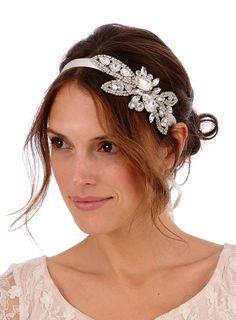 Items similar to 336 - OLIVE Lux Headpiece - bridal 5ad03adb0cd9