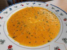 Kürbis-Curry Suppe