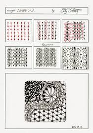 Afbeeldingsresultaat voor zentangle patterns