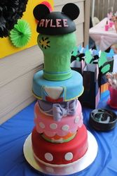 """Mickey Mouse Clubhouse or Minnie Mouse / Birthday """"Rylee's 1st Birthday"""" 