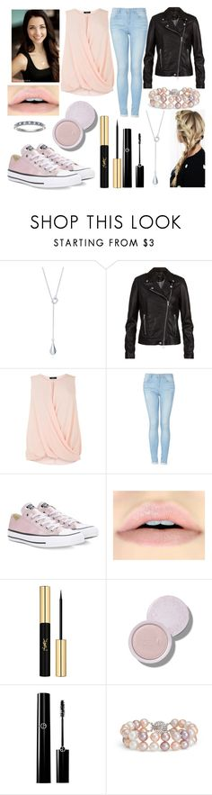 """""""#523"""" by glitterunicorns-are-awesome ❤ liked on Polyvore featuring SET, Topshop, Converse, Yves Saint Laurent, Blue Nile and I Promise You"""