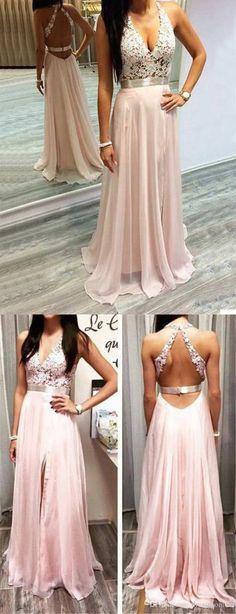 pink long prom dress, 2017 prom dress, long prom dress, formal evening dress, party dress,160