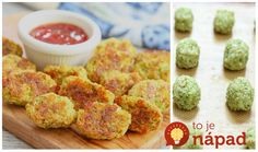 These broccoli tots are a great snack or side dish and a fun and delicious way to eat more greens. They are so easy to make and you only need four ingredients. Baby Food Recipes, Diet Recipes, Cooking Recipes, Healthy Recipes, What's Cooking, Recipies, Broccoli, Healthy Snacks, Healthy Eating