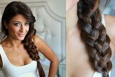 Five Strand Braid Tutorial  #braids #braidedhairstyles