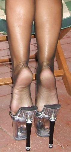 Very Sexy Shoeplay Sexy High Heels, High Heels Boots, Sexy Legs And Heels, Hot Heels, Platform High Heels, Womens High Heels, Pantyhose Heels, Stockings Heels, Black Pantyhose