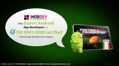 Hire expert Android App developers from certified app development company