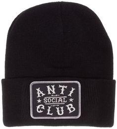 SOCIAL DECAY ANTI SOCIAL BEANIE $24.00 #socialdecay #antisocial #beanie