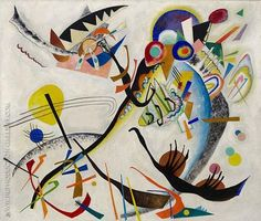 Blue Segment 1921 By Wassily Kandinsky. Replica Paintings on Canvas - Reproduction Gallery Famous Abstract Artists, Paintings Famous, Picasso Paintings, Abstract Painters, Art Kandinsky, Wassily Kandinsky Paintings, Dale Chihuly, List Of Artists, Oil Painting Reproductions