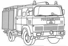 Feuerwehr Ausmalbilder Ausmalbilder Feuerwehr Feuerwehrauto
