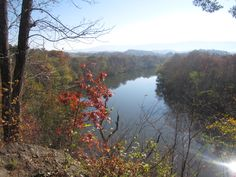 View of the Nolichuckey River in southern Greene County.