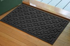Prevent guests and family members from tracking dirt and debris into your home with help from the Ellipse Front Door Mat. The strong polypropylene fibers are designed to capture and trap dirt so it does not get tracked into your home, and the fibers are crack, mold, and fade resistant for years of reliable performance. The doormat comes in several different colors to complement any household or business decor.   The rubber backing prevents the rug from sliding around on the floor or ground…