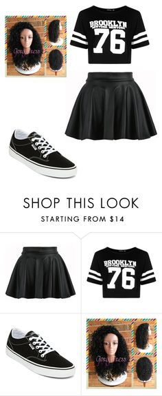 """""""✌❤🐼"""" by kya-mya ❤ liked on Polyvore featuring Boohoo and Vans"""