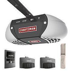 Craftsman 3 4 Hp Smart Belt Drive Garage Door Opener 100 Cashback Points 150 Or Less Craftsman Garage Door Craftsman Garage Door Opener Garage Door Opener