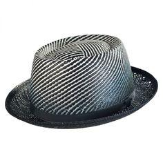 Bailey Davos Toyo Straw Fedora Hat