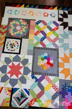 Sometimes Crafter Longarm Quilting // Heather O'Brian's Traveling Quilt