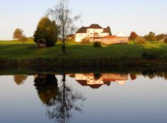 House reflected