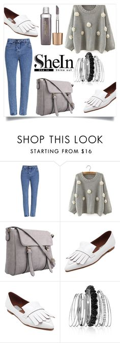 """""""SheIn III/1"""" by zenabezimena ❤ liked on Polyvore featuring Avenue, Jane Iredale, Sheinside and topset"""