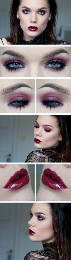 Todays look – Dark skies - Linda Hallberg Linda Hallberg, Make Up Looks, Daily Makeup, Love Makeup, Cheap Makeup, Gorgeous Makeup, Looks Dark, Make Up Tutorials, Vernis Semi Permanent