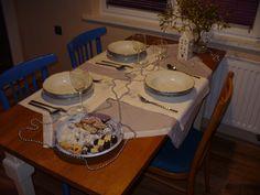 Eklektický domov: Stůl nejen sváteční Tento svátečně prostřený stůl...