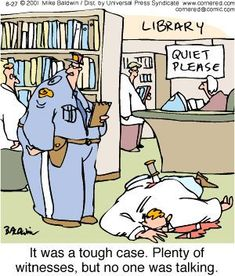 They're the keepers of knowledge and silence. Go librarians!