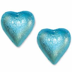 Tiffany Blue Foiled Gourmet Creamy Milk Chocolate Hearts 1 Pound Box - Oh! Nuts - http://bestchocolateshop.com/tiffany-blue-foiled-gourmet-creamy-milk-chocolate-hearts-1-pound-box-oh-nuts/