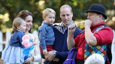The Duke & Duchess this morning attended a children's party for military families with Prince George & Princess Charlotte #RoyalVisitCanada Kensington Palace (@KensingtonRoyal) | Twitter