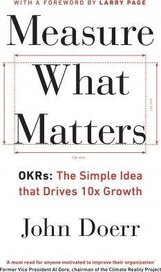 This is a wonderful book that helps beautifully to determine whether what is measured is supportive of the end goal.