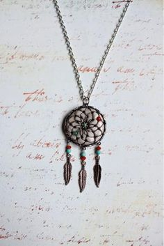 I am absolutely in love with dream catcher jewelry <3
