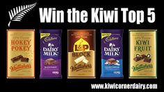 Kiwi Corner Dairy are giving away this pack of pure Kiwi goodness - enter to win it now. Kiwi, Cocoa, Chocolate Pack, Dairy, Corner, Pure Products, Fruit, Essentials, Theobroma Cacao
