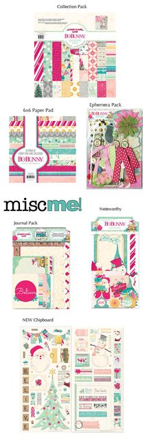 BoBunny: Candy Cane Lane Sneak Peek. Stop by the  blog to win some goodies.