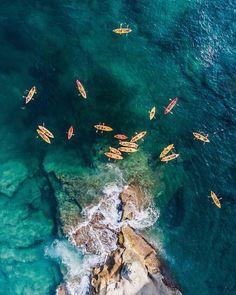 Fascinující letecké snímky z Austrálie, Neapole a Arabských emirátů - VICE