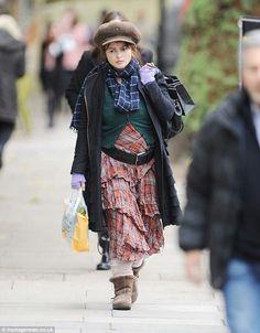 Helena Bonham Carter in London, October 2013