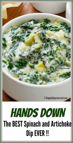 Dip Recipes 81698180721048744 - Almost-Famous Spinach-Artichoke Dip recipe from Food Network Kitchen via Food Network Source by bostonheather Dip Recipes, Appetizer Recipes, Cooking Recipes, Healthy Recipes, Recipes Dinner, Holiday Recipes, Dip Appetizers, Appetizer Ideas, Party Recipes