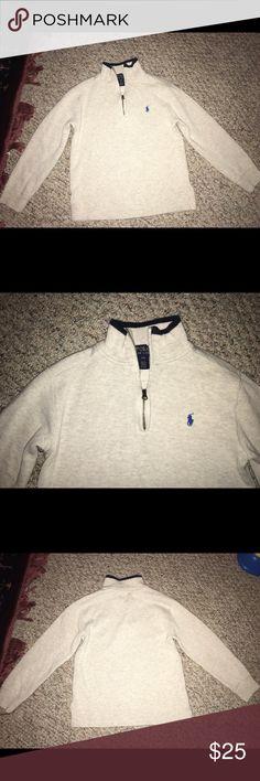 Ralph Lauren Polo Sweater Ralph Lauren Polo Boys half zip sweater. Size 8 boys. Ralph Lauren Shirts & Tops Sweaters