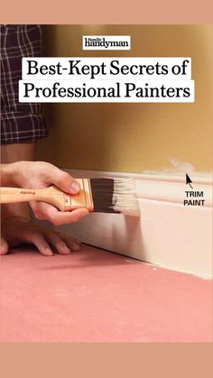 Painting Hacks, Diy Painting, Painting Trim, House Painting, Home Improvement Projects, Home Projects, Professional Painters, Diy Home Repair, Paint Stain