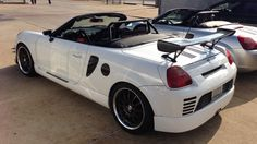 We had the Toyota MR2 club at the dealership this Saturday. We enjoyed BBQ and cars!