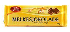 """Freia - Melkesjokolade ~ """"The Norwegians also know the secrets to a delicious milk chocolate."""""""