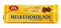 "Freia - Melkesjokolade ~ ""The Norwegians also know the secrets to a delicious milk chocolate."""