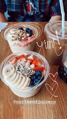 Easy Healthy Breakfast Recipes on the Go I Love Food, Good Food, Yummy Food, Creative Instagram Stories, Instagram Story, Instagram Life, Breakfast Photography, Fruit Photography, Life Photography