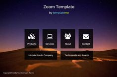 Zoom Template - #freebies #templates #design