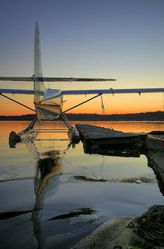 Kenmore Air Sunset