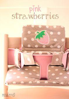 Hochstuhl-Kissen selber nähen :: DIY high chair cushion