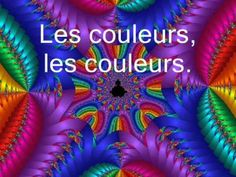 Les Couleurs - great song to teach colours in French, but also to use as a brain break. I play it for grade class and have them jump up everytime they sing a colour that they are wearing. They constantly ask for the colour song! Learning French For Kids, Ways Of Learning, French Teaching Resources, Teaching French, How To Speak French, Learn French, Good Vocabulary, French Songs, French Films